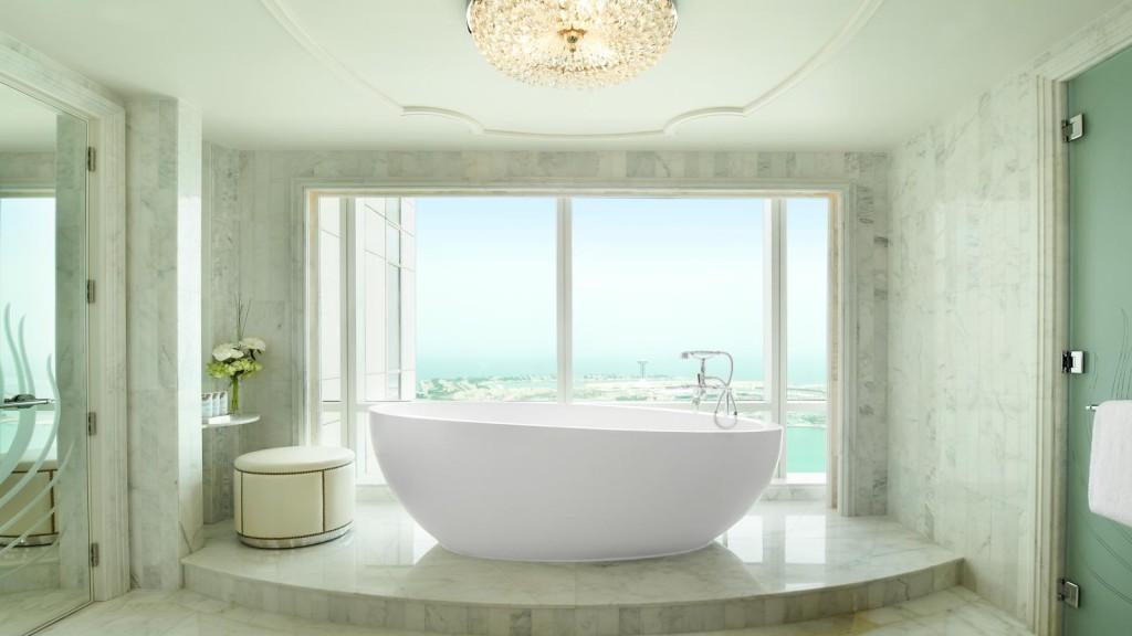 セント・レジス・アブダビ The St. Regis Abu Dhabiのバスルーム