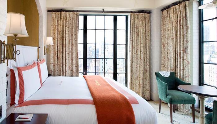 ザ・バワリー・ホテル The Bowery Hotelの客室