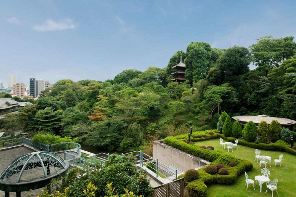 ホテル椿山荘東京の風景
