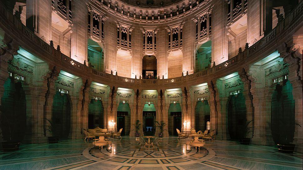 ウメイド・バワン・パレス Umaid Bhawan Palaceのロビー
