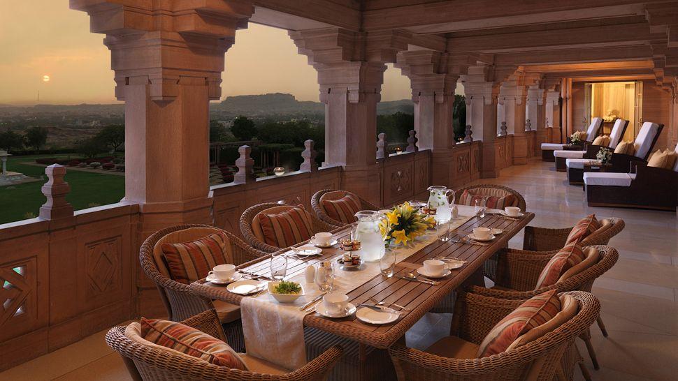 ウメイド・バワン・パレス Umaid Bhawan Palaceのレストラン