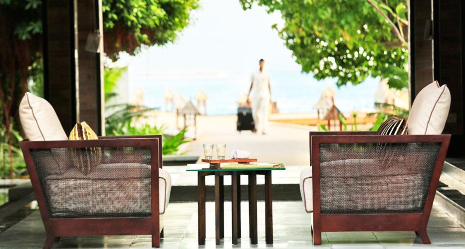 ルンバ・モルディブ Kurumba Maldivesのロビー