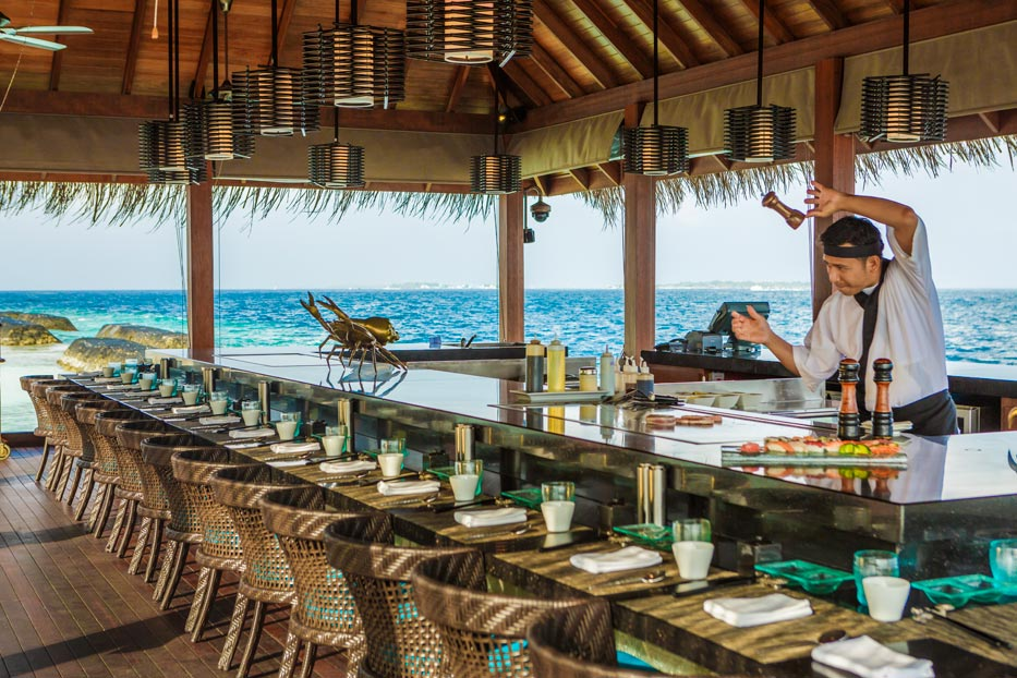 ルンバ・モルディブ Kurumba Maldivesのレストラン