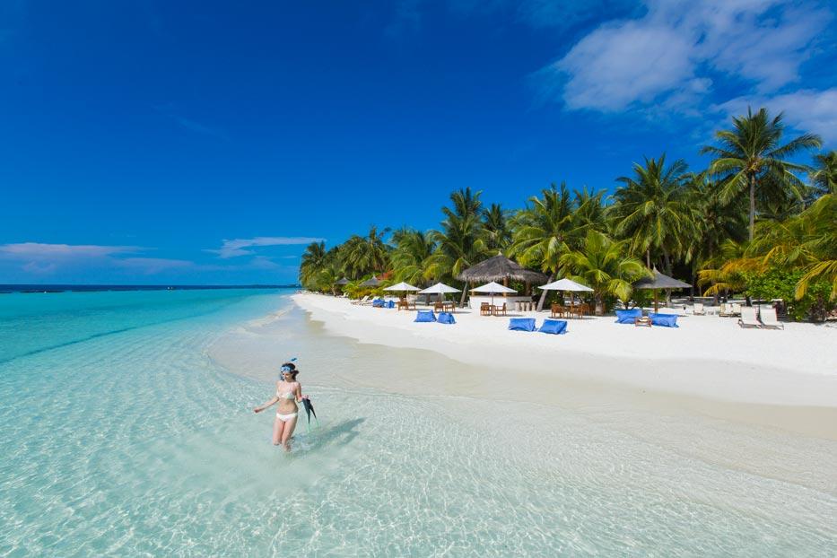 ルンバ・モルディブ Kurumba Maldivesの風景