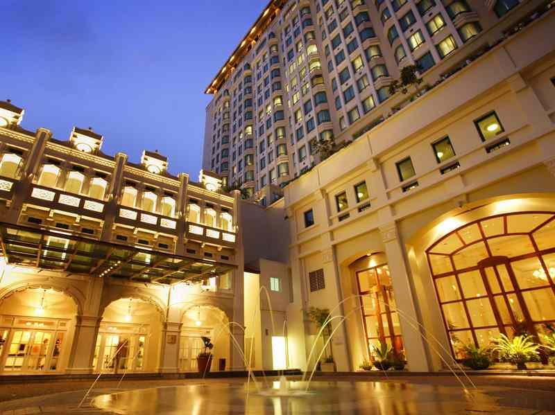 インターコンチネンタル・シンガポール InterContinental Singaporeの外観