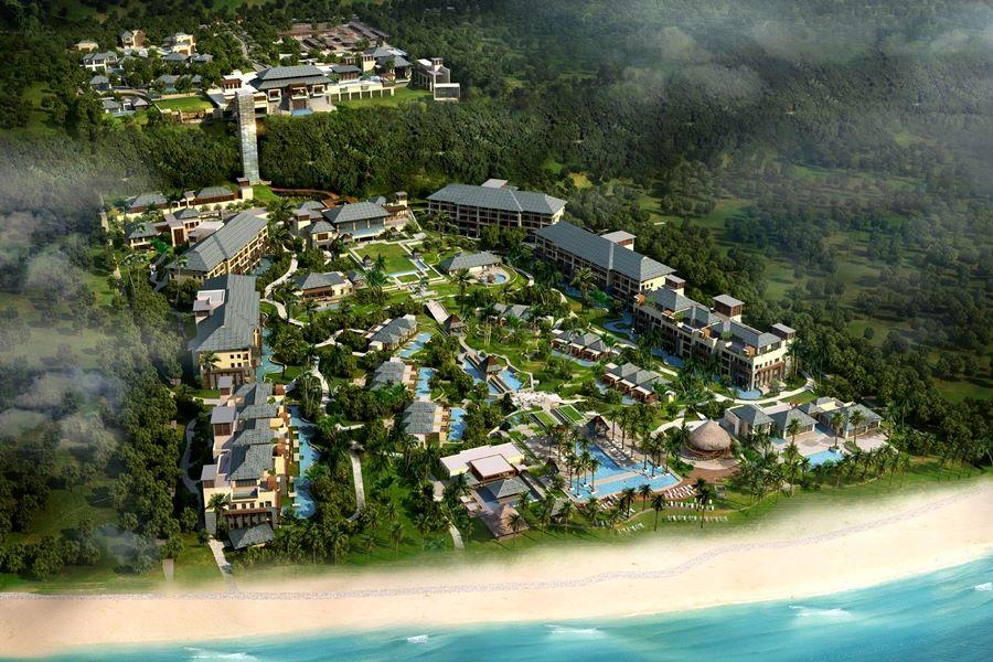 ザ・リッツ・カールトン・バリ The Ritz Carlton Baliの敷地イメージ
