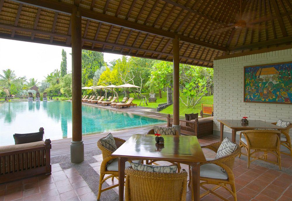 ザ・チェディ・クラブ・アット・タナ・ガジャ・ウブド The Chedi Club Tanah Gajah Ubudのレストラン