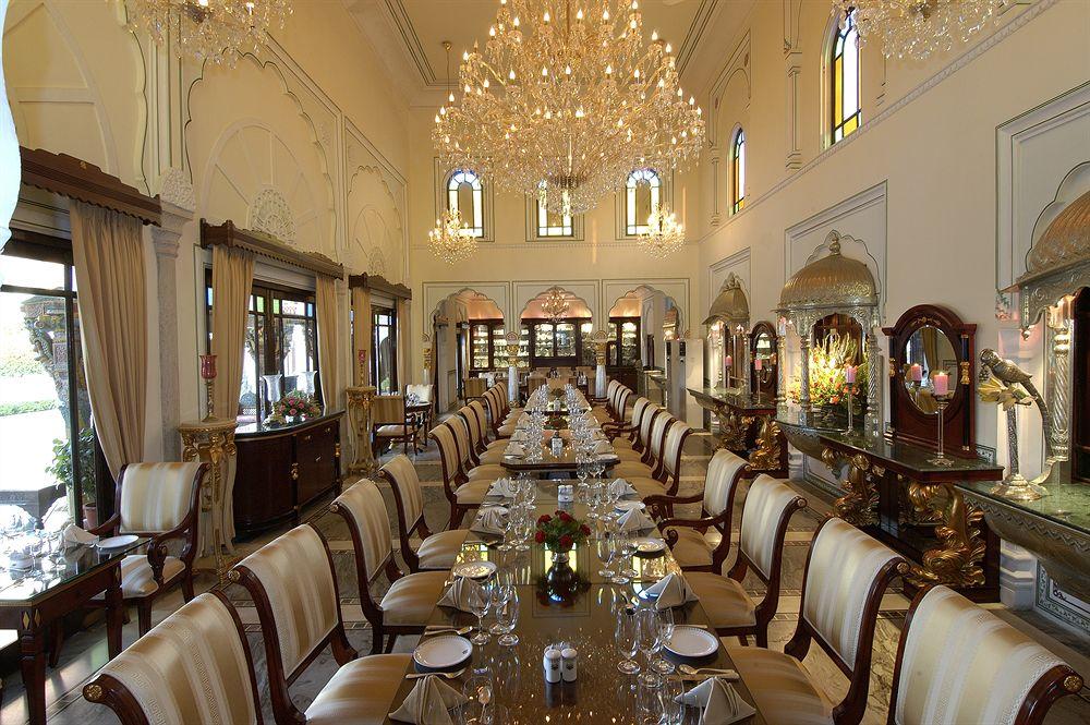 ザ・ラージ・パレス The Raj Palaceのレストラン