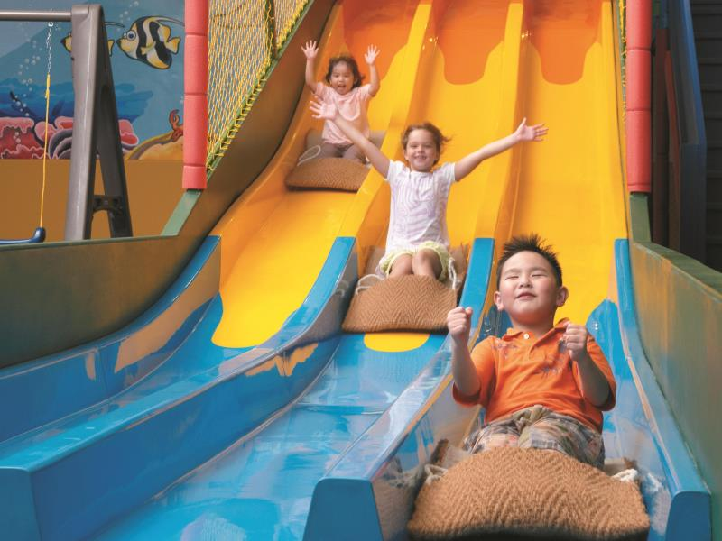 シャングリ・ラ・ボラカイ・リゾート・アンド・スパ Shangri-La's Boracay Resort & Spaの子供向けゾーン