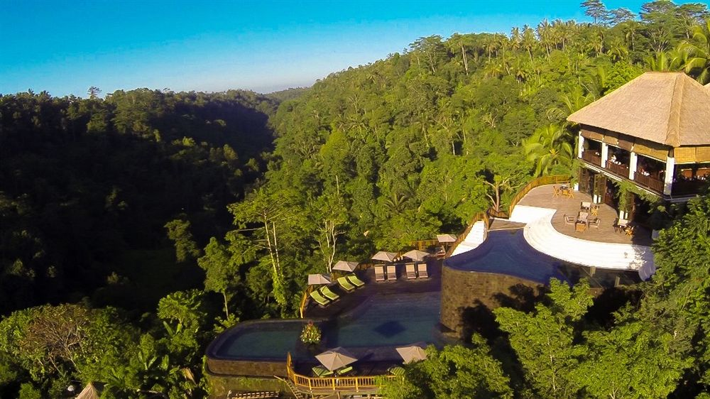ウブド・ハンギング・ガーデンズ Hanging Gardens Ubudの風景