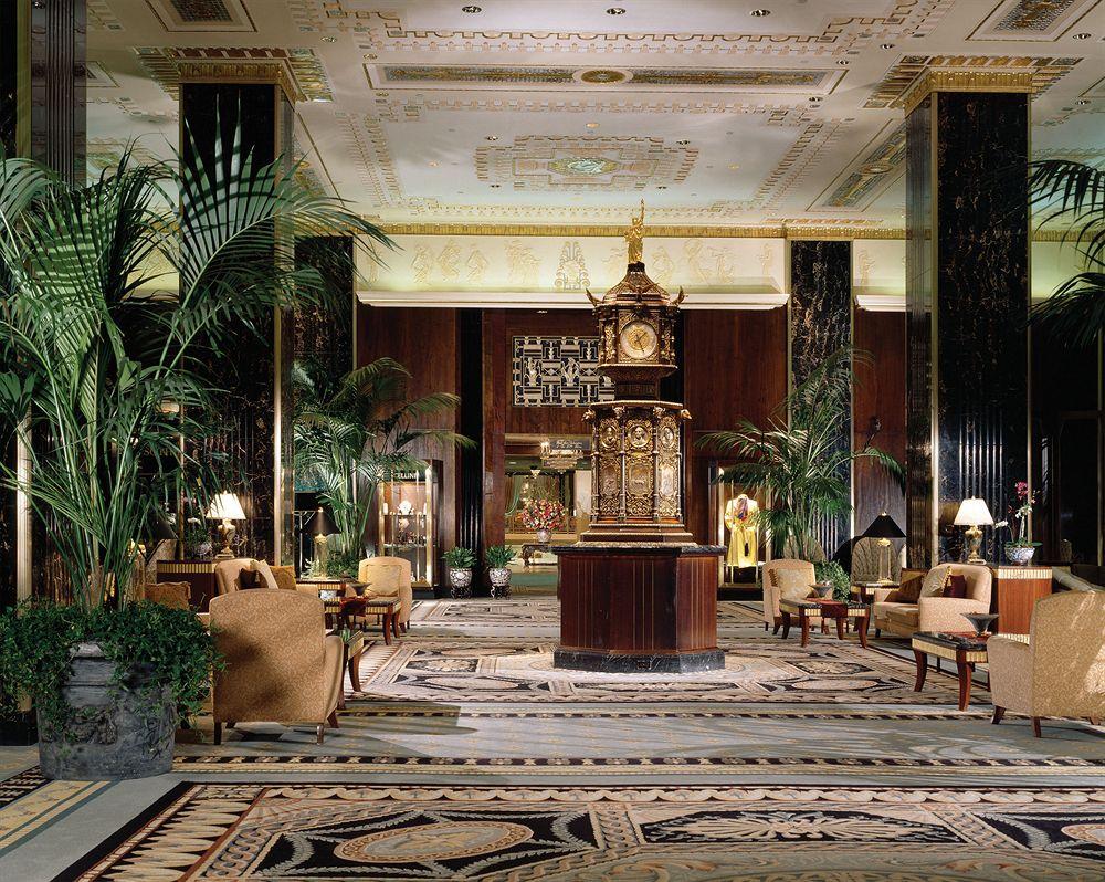 ザ・ウォルドーフ・アストリア・ニューヨーク The Waldorf Astoria New Yorkのロビー