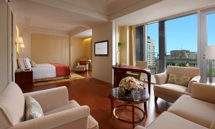 オークラ・プレステージ・台北 The Okura Prestige Taipeiの客室