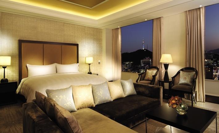 ロッテ・ホテル・ソウル Lotte Hotel Seoulの客室
