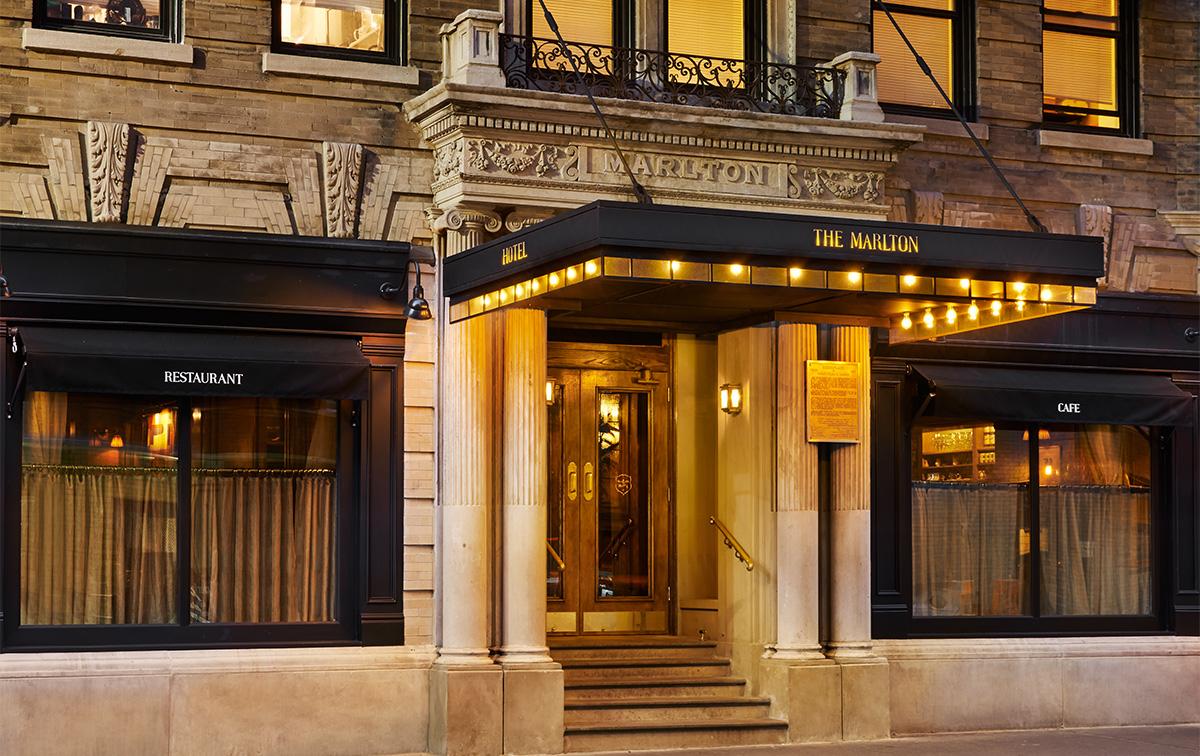 レトロティックでロマンティック、グリニッジビレッジに生まれ変わったラグジュアリーな「ザ・マールトン・ホテル」
