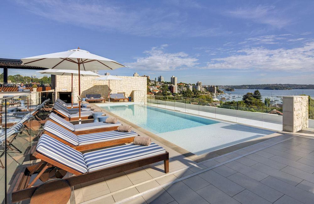 インターコンチネンタル・シドニー・ダブル・ベイ Intercontinental Sydney Double Bayの屋外プール