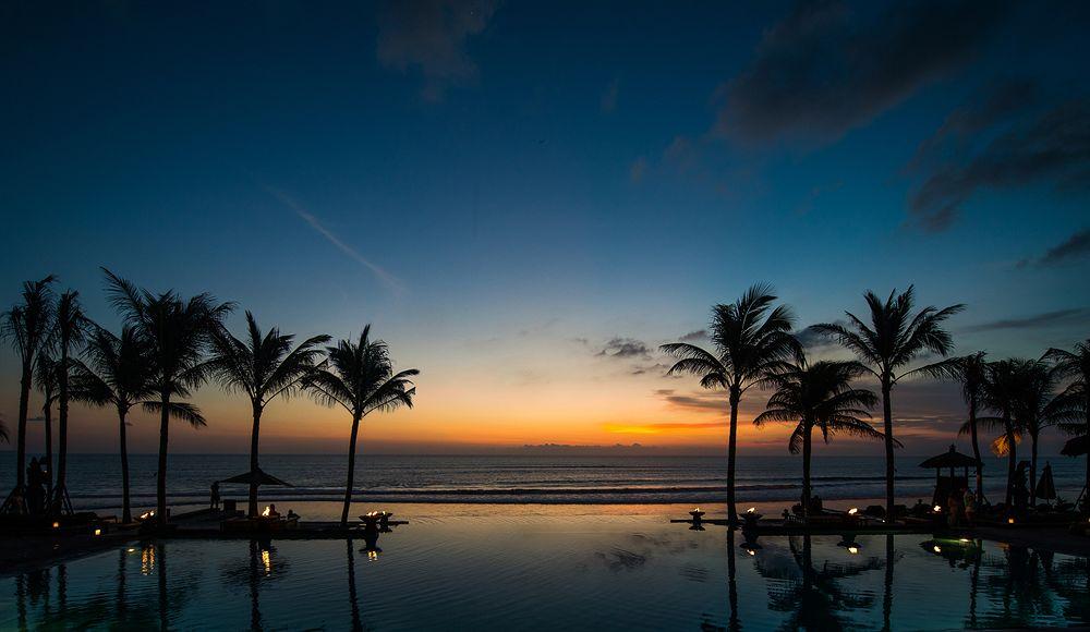 ザ・レギャン・バリ The Legian Baliの夕暮れ
