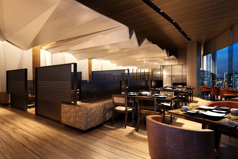 オークラ・プレステージ・バンコク The Okura Prestige Bangkokの日本食レストラン