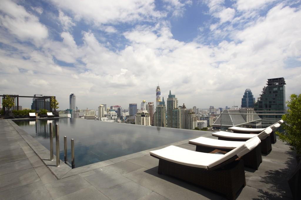 オークラ・プレステージ・バンコク The Okura Prestige Bangkokの屋外プール