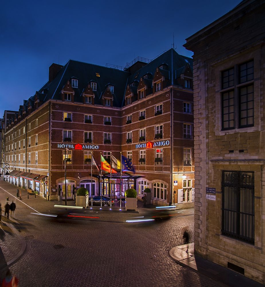 ベルギーの過去と現在を感じる「ロッコ・フォルテ・ホテル・アミーゴ」