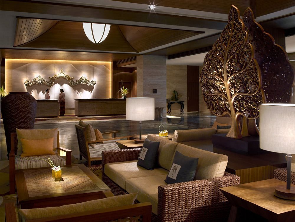 シャングリ・ラ・ラサ・サヤン・リゾート&スパ Shangri-La's Rasa Sayang Resort and Spaのロビー
