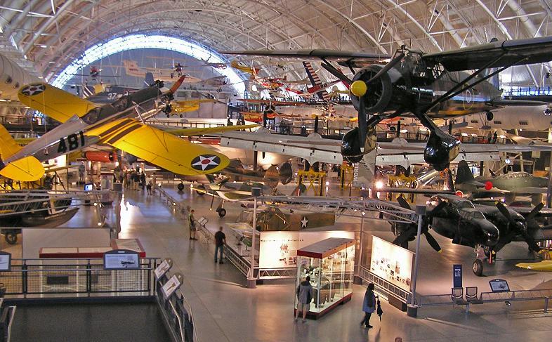ワシントンD.C. Washington D.C.の国立航空宇宙博物館