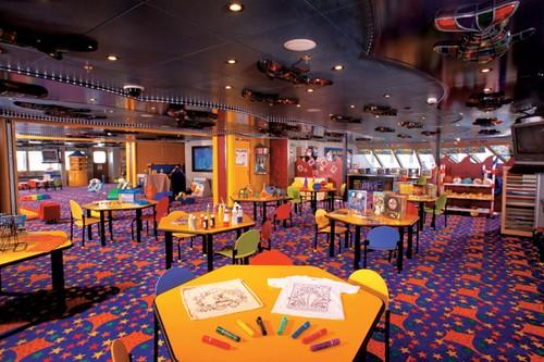 カーニバル・クルーズ Carnival Cruiseの子供向けエリア