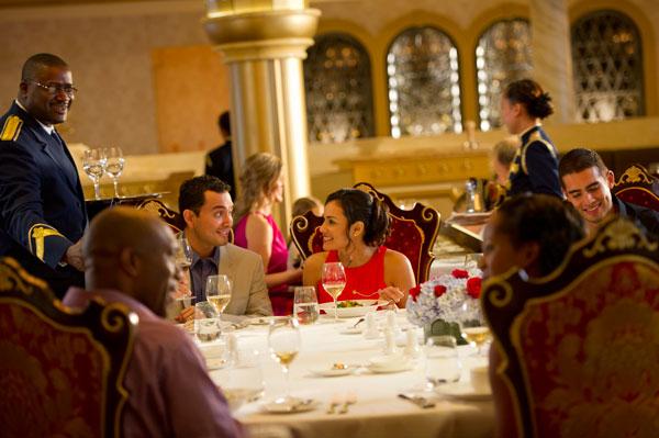 ディズニー・クルーズ Disney Cruise Lineのレストラン