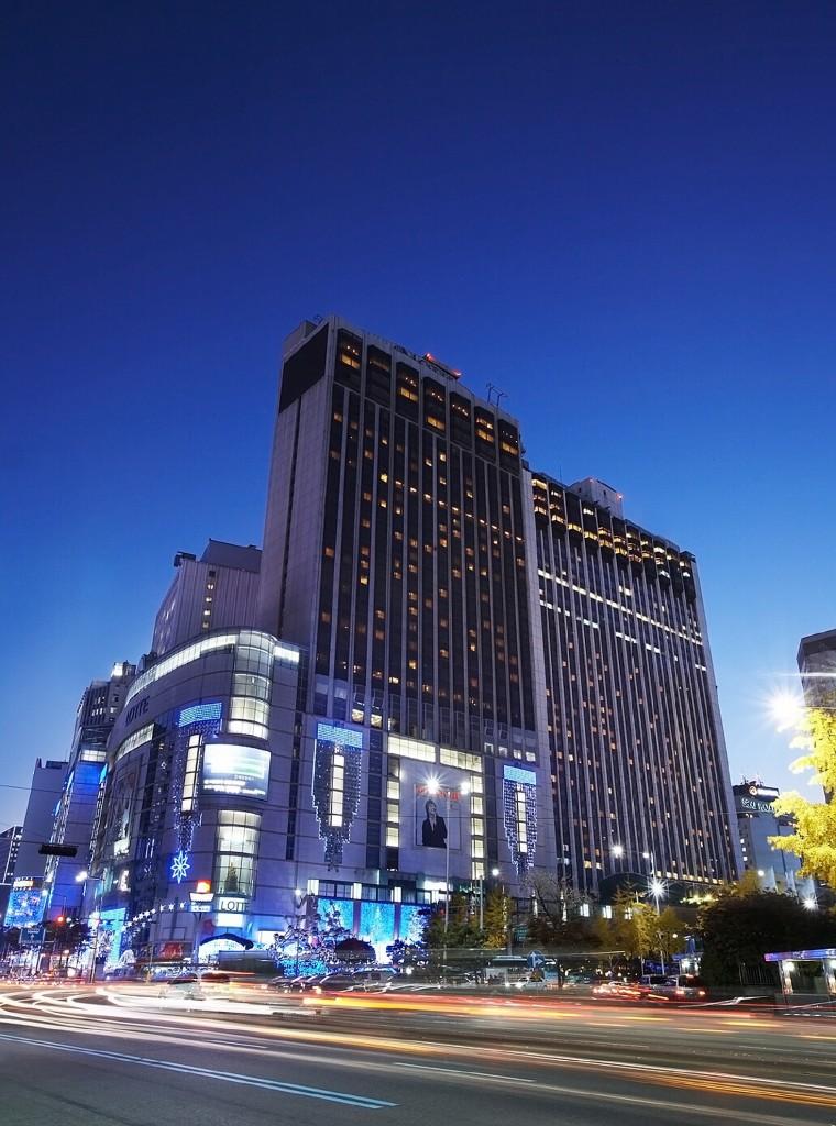 ロッテ・ホテル・ソウル Lotte Hotel Seoulの外観