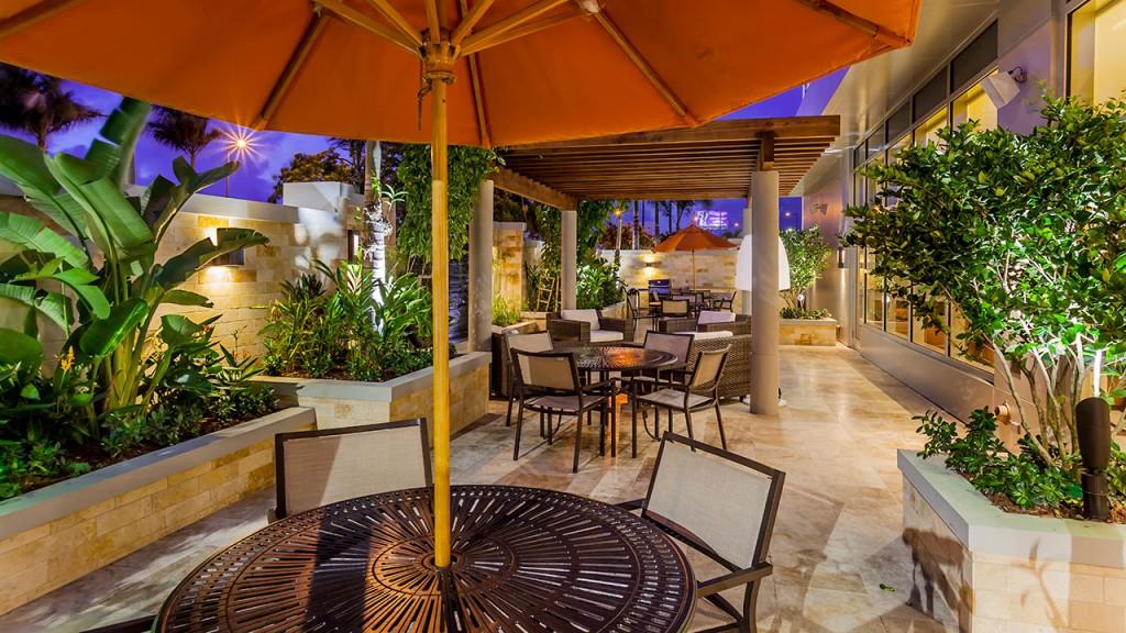 ハイアット・ハウス・サン・ファン Hyatt House San Juanのテラス
