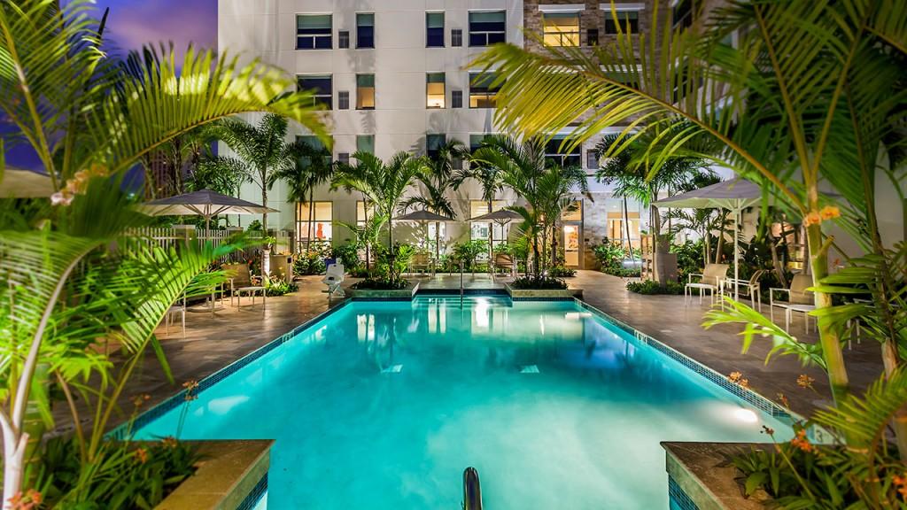 ハイアット・ハウス・サン・ファン Hyatt House San Juanのプール