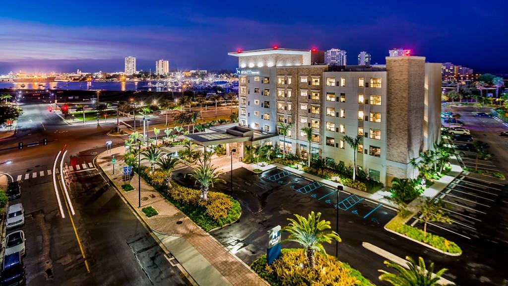 ハイアット・ハウス・サン・ファン Hyatt House San Juanの外観