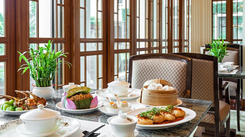 ザ・ペニンシュラ・バンコク Peninsula Bangkok Hotelのレストラン