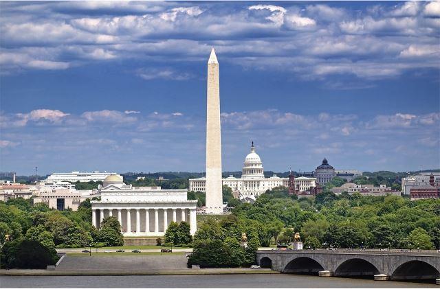 ワシントンD.C. Washington D.C.のワシントン記念塔