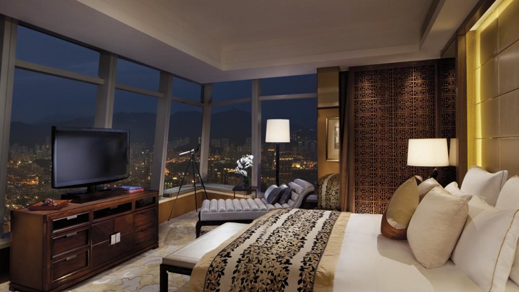 ザ・リッツ・カールトン・香港の客室