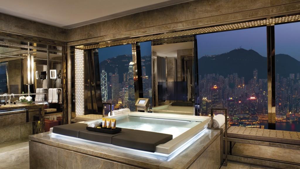 ザ・リッツ・カールトン・香港のバスルーム