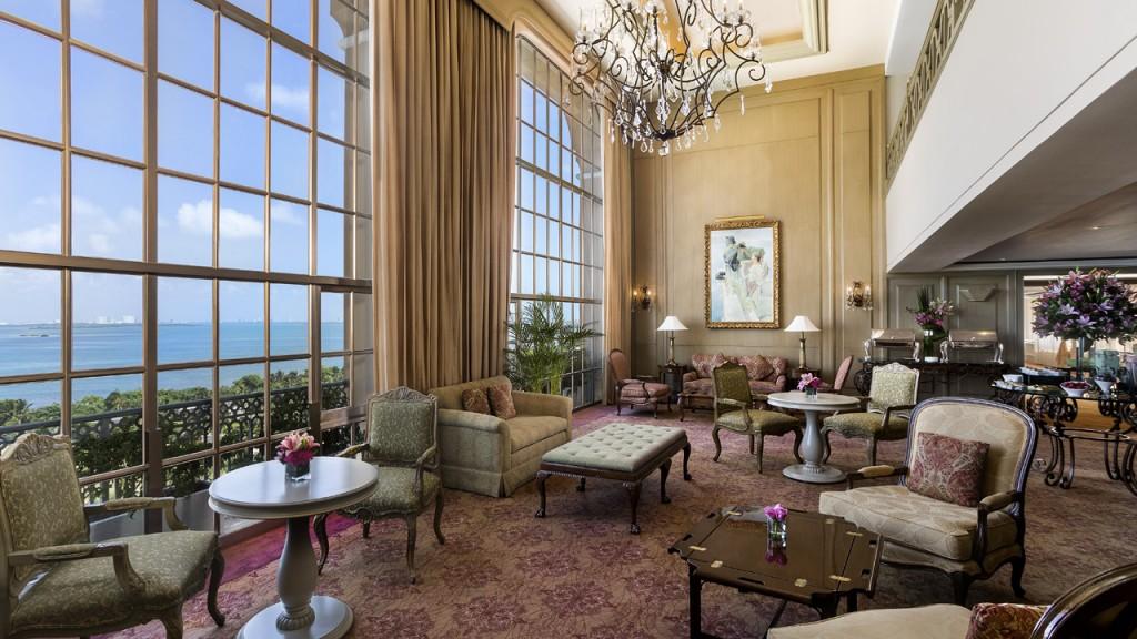 ザ・リッツ・カールトン・カンクン The Ritz-Carlton Cancunのロビー