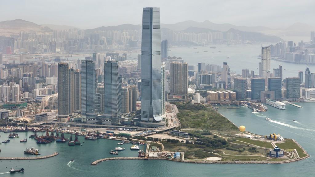ザ・リッツ・カールトン・香港の周辺風景