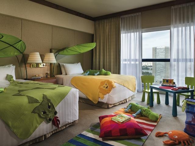 スイソテル スタンフォード シンガポール  Swissotel The Stamfordのキッズ用客室