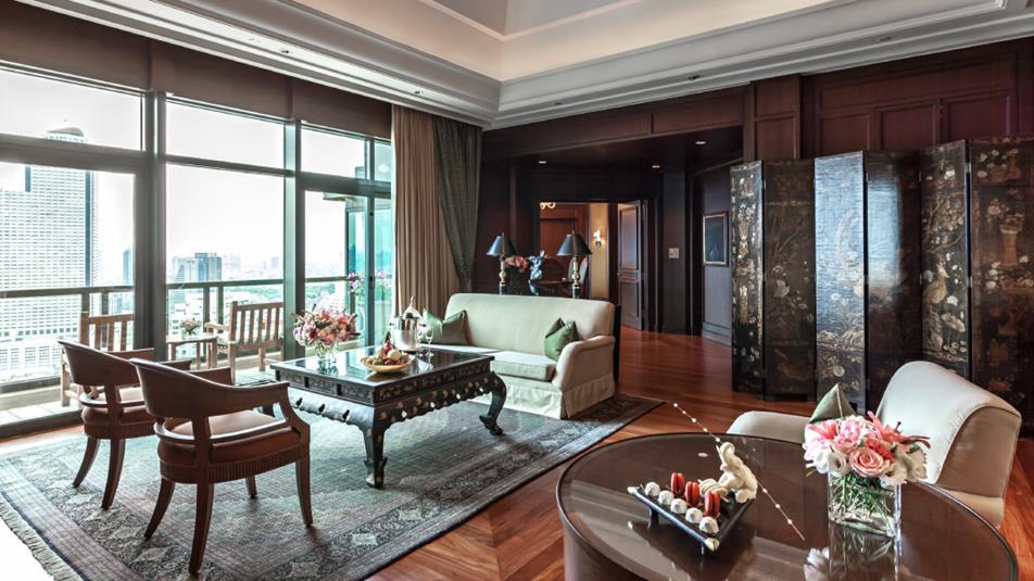ザ・ペニンシュラ・バンコク Peninsula Bangkok Hotelの客室