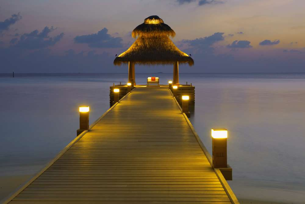 バロス・モルディブ Baros Maldivesの船着き場