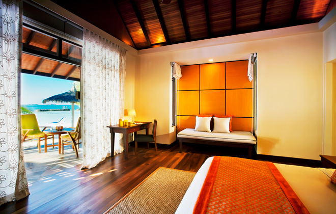 ルンバ・モルディブ Kurumba Maldivesの客室