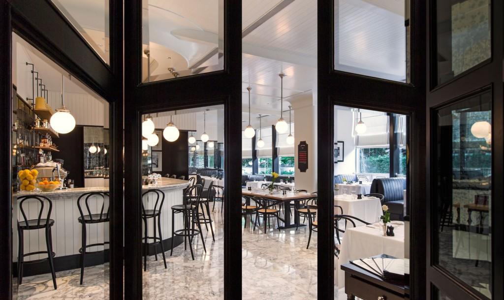 オリエンタル・レジデンス・バンコク Oriental Residence Bangkokのレストラン