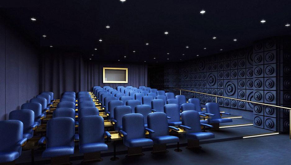 モンドリアンホテルの映写室