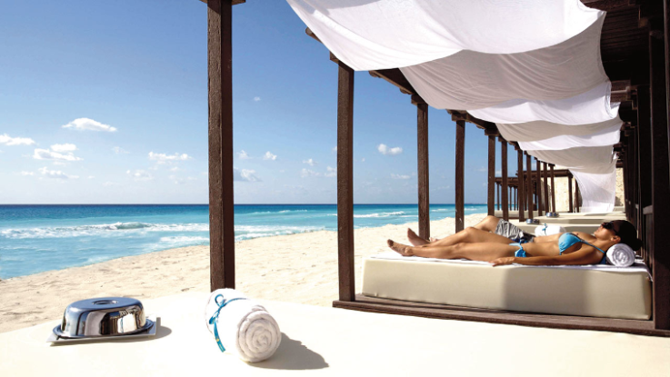 ハイアット・ジラーラ・カンクン Hyatt Zilara Cancunのビーチ