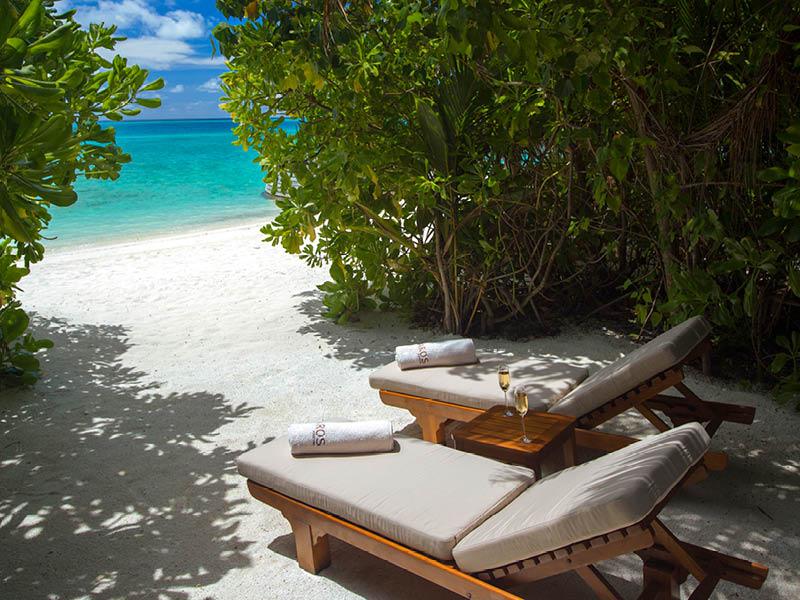 バロス・モルディブ Baros Maldivesのヴィラ