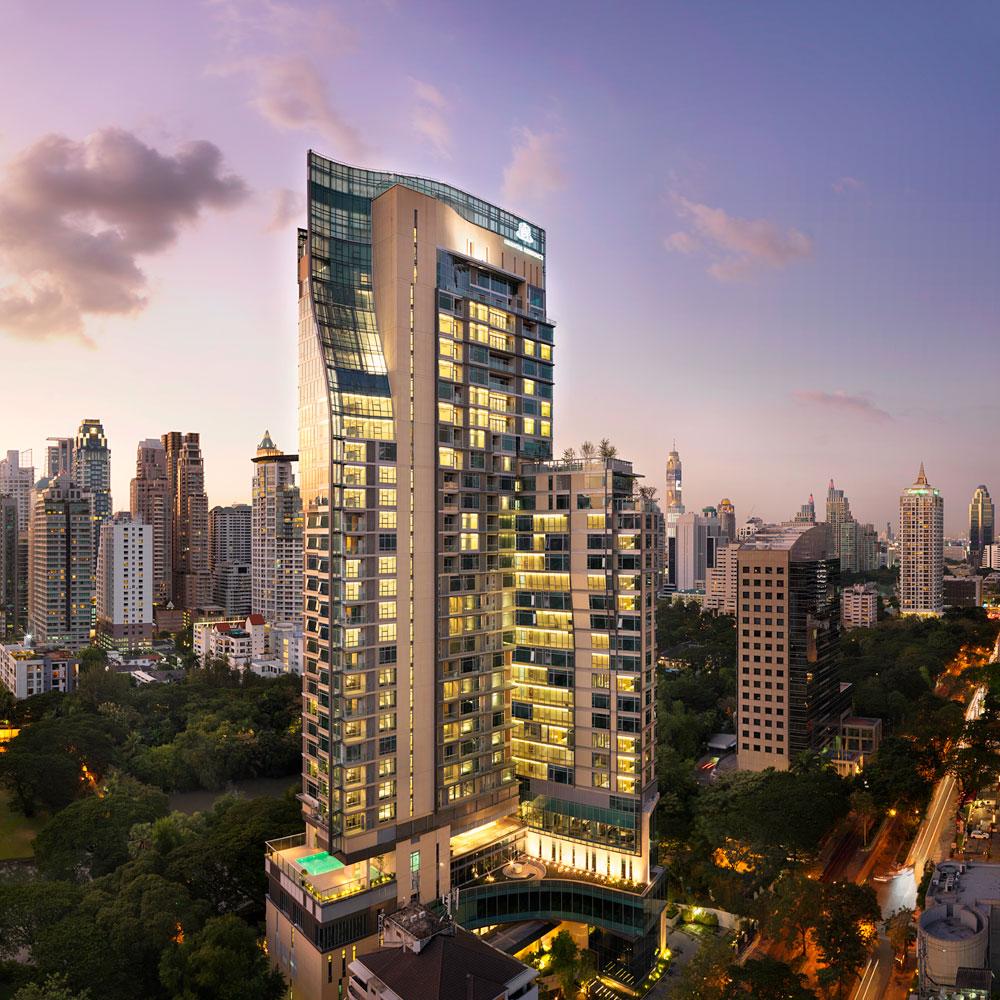 オリエンタル・レジデンス・バンコク Oriental Residence Bangkokの外観