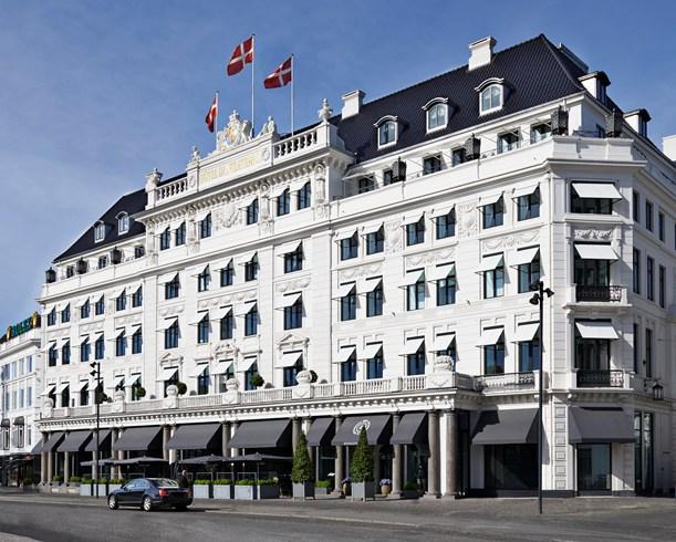 レストランから一流ホテルにまで上りつめたコペンハーゲンの「ホテル・ダングルテール」