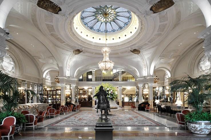 オテル・ド・パリ・モンテカルロ Hotel de Paris Monte-Carloのロビー