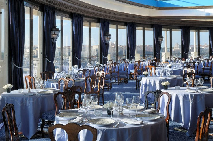 オテル・ド・パリ・モンテカルロ Hotel de Paris Monte-Carloのレストラン