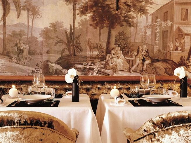 ホテル・メトロポール・モンテカルロ Hotel Metropole Monte-Carloのレストラン